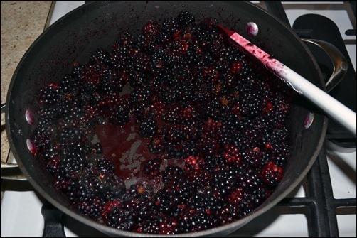 hot blackberries
