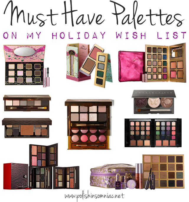 My Holiday Palette Wish List