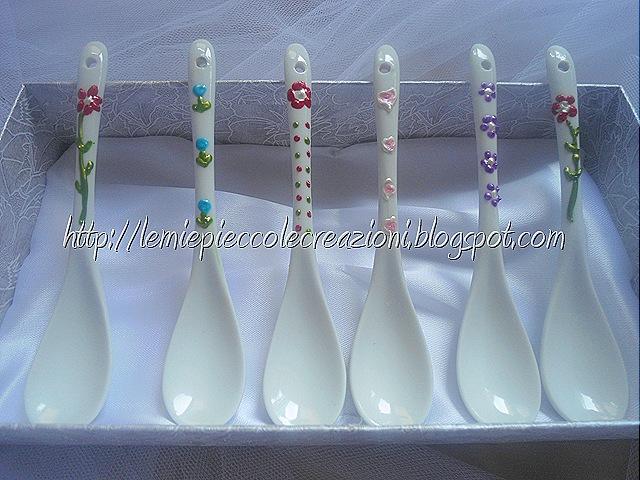 cucchiaini decorati