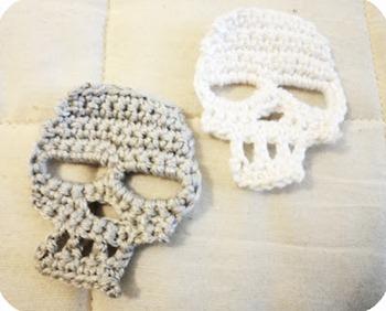 crochet skull 2