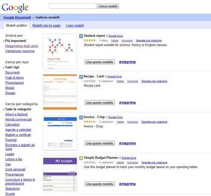 modelli-google-drive