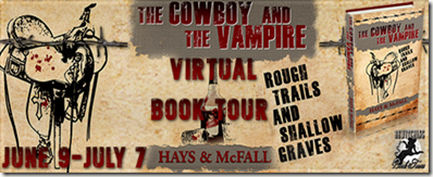 The Cowboy and the Vampire Book 3 Banner 450 x 169