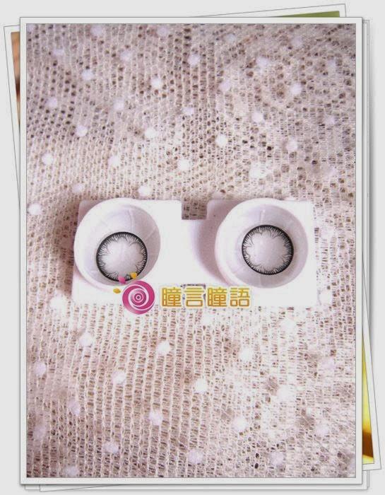 韓國NEO隱形眼鏡-NEO花神灰2