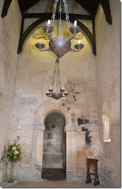 inside saxon church 1