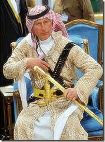 Prince Charles as Muslim Jihadi