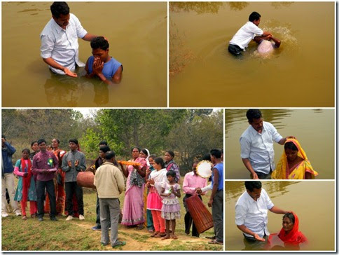 Baptism Collage