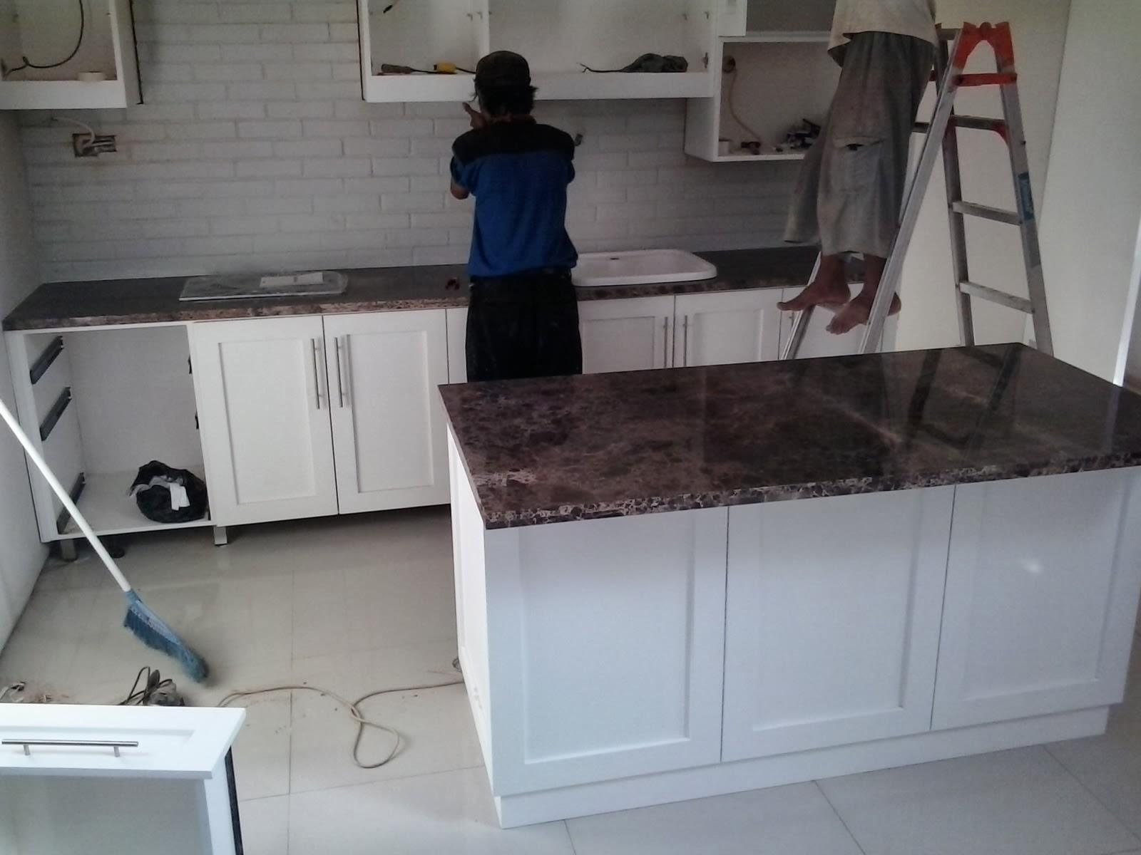 Suplier dan jasa pasang poles marmer dan granit top for Jasa buat kitchen set