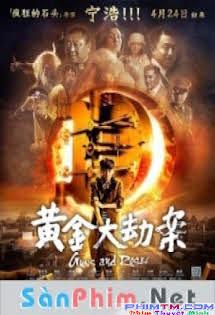 Hoàng Kim Đại Kiếp Án -  Guns And Roses Tập HD 1080p Full