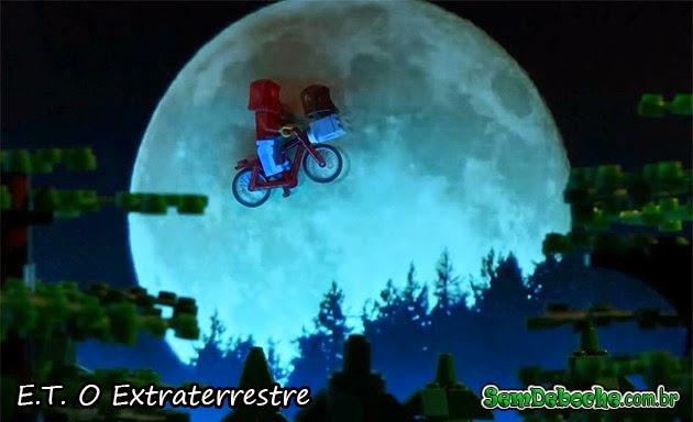 FILMES RECRIADOS EM LEGO: ET!