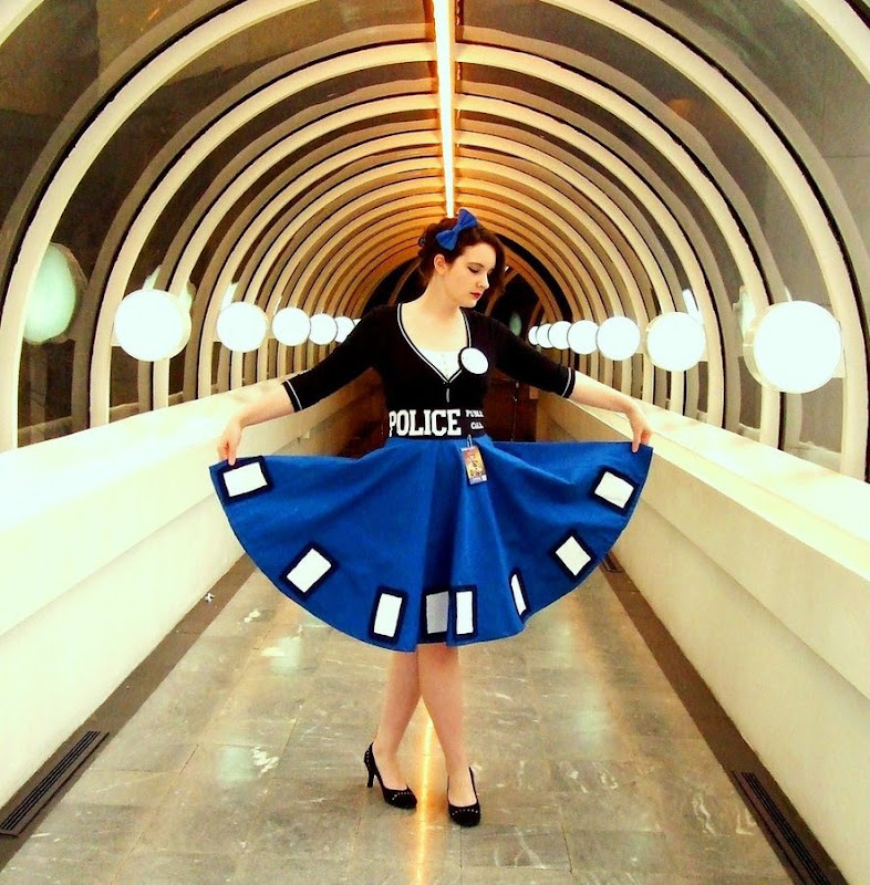 TARDIS Dress by AliceinIvory on devientArt