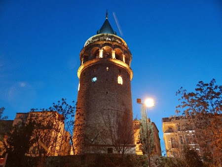 Obiective turistice Istanbul: Turnul Galata