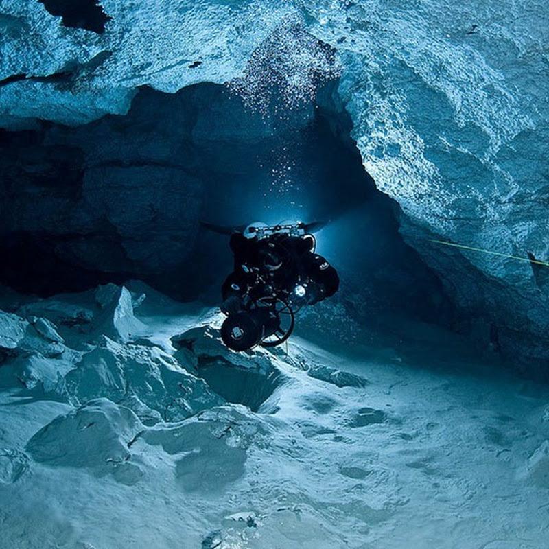 Orda Cave: World's Longest Underwater Gypsum Cave in Russia