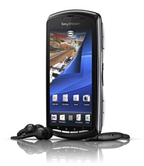 Xperia PLAY_Black_Front40_HS_screen2