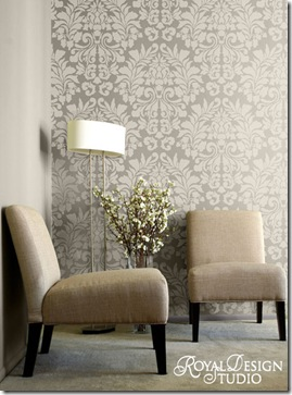 Royal-Design-724L-Lg--Fabric-Damask-Stencil