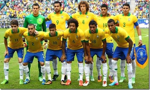 Brasil campeão 2013
