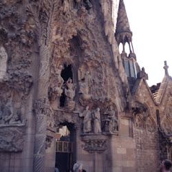 78.- Gaudí. Sagrada familia