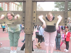 Disney me and katie in the stocks1