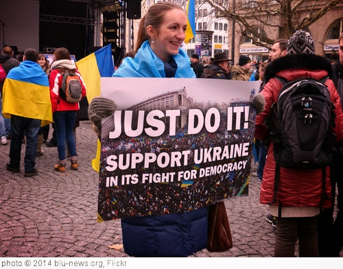 'Ukraine Demo' photo (c) 2014, blu-news.org - license: http://creativecommons.org/licenses/by-sa/2.0/