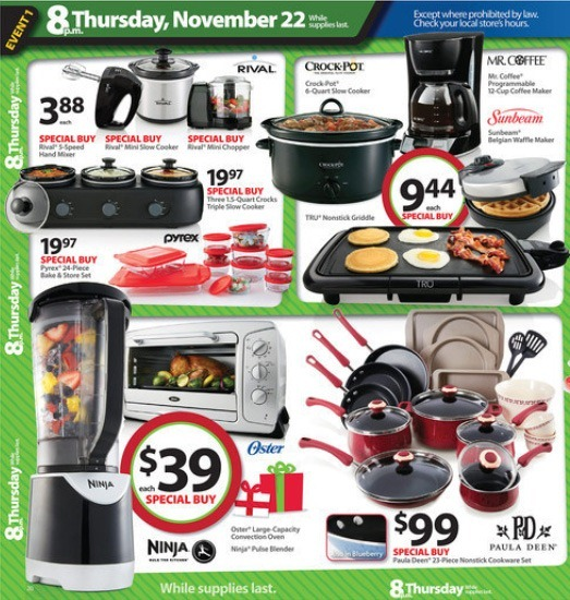 Walmart Black Friday 2012 20th page ad