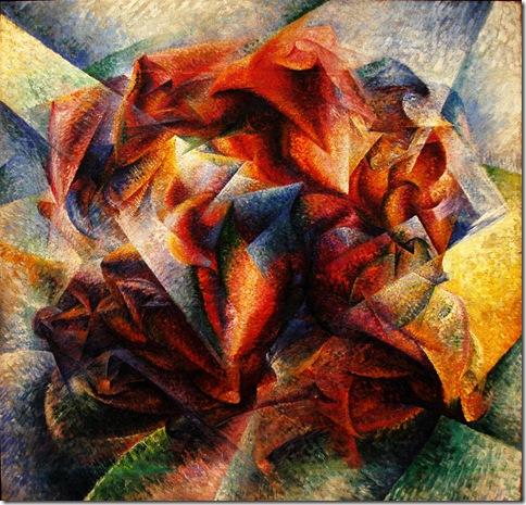 Umberto Boccioni_Dinamismo de un jugador de futbol_New York, Museum of Modern Art