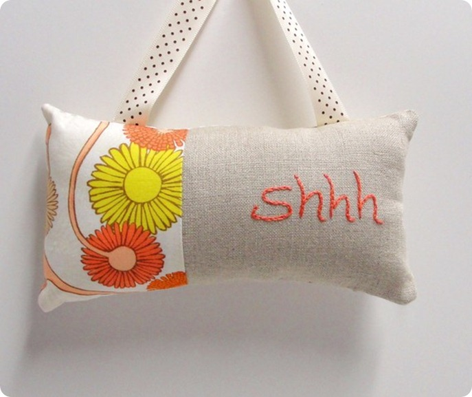 Nursery Door Knob Pillow