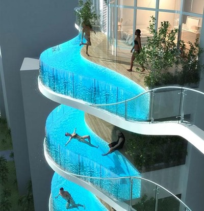24. BALCONY SWIMMING POOL
