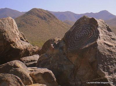 Saguaro N.P. Petroglyph. Petroglyph