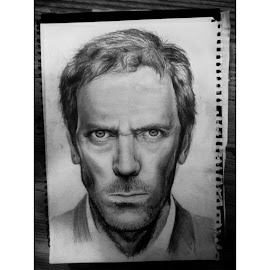 Hugh by Madeleine Strand - Drawing All Drawing ( amazing, pencil, hugh laurie, sketch, drawing )