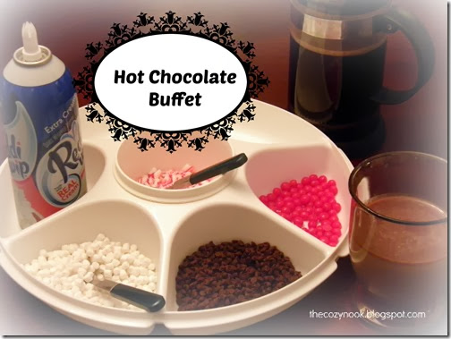 Hot Chocolate Buffet