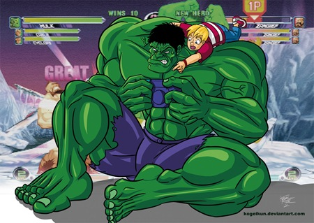 Un Hulk para Richi, por Ismael Cuevas