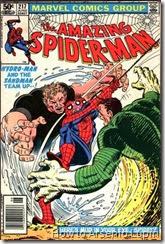 The amazing spider-man #217 y #218, los dos hombres mas dificiles de atrapar se unen para vencer a spidey en mas de un sentido, conozcan al monstruo de fango.