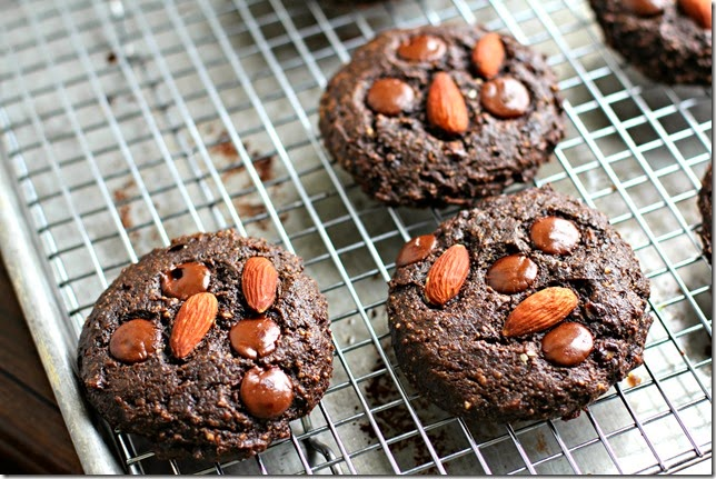 Chocolate Almond Cookies2