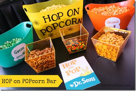 Hop on Popcorn Bar Seuss Carnival obSEUSSed Party