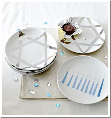 Hanukkah-plates