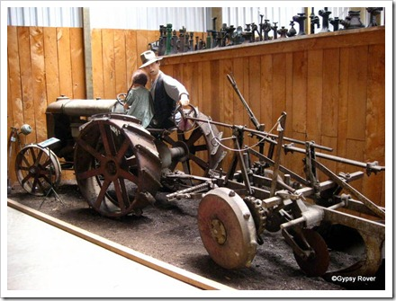 Tawhiti museum. Farming history.