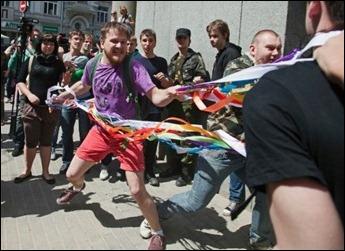 Parada Gay Rússia violencia