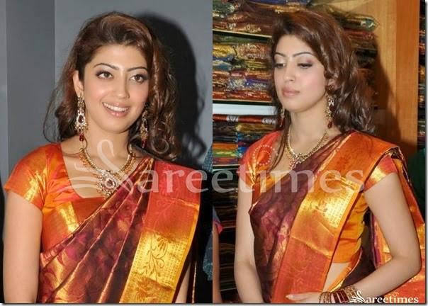 Praneetha_Kanjeevaram_Silk_Saree_Blouse