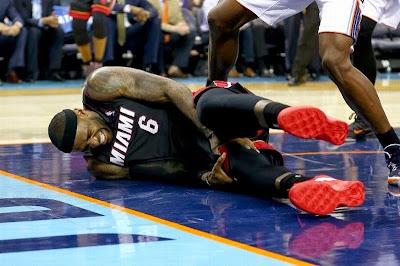 lebron james nba 140428 mia at cha 03 game 4 LeBron Enters Soldier Mode Again as Miami Sweeps Charlotte