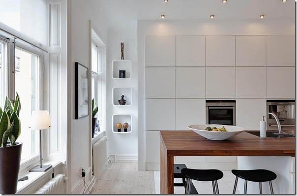case e interni - casa svedese - Stoccolma - bianco (7)