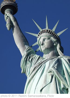 'Statue of liberty' photo (c) 2011, Rakkhi Samarasekera - license: http://creativecommons.org/licenses/by/2.0/