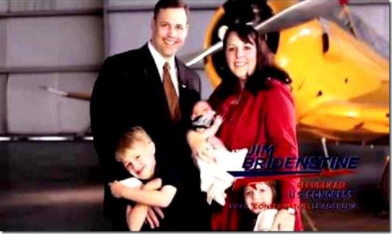 Jim Bridenstine & Family