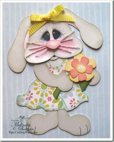 bunny svg easter girl cute-500