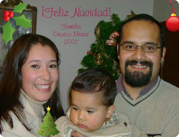 071224 Tarjeta Navidad familiar 2007