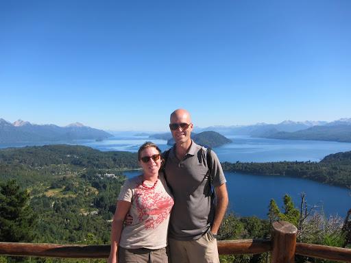 Breathtaking views on top of Cerro Campanario.