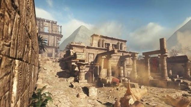 CoD Ghosts – Invasion DLC Geheimer Schatzraum auf Pharaoh Easter Egg 01