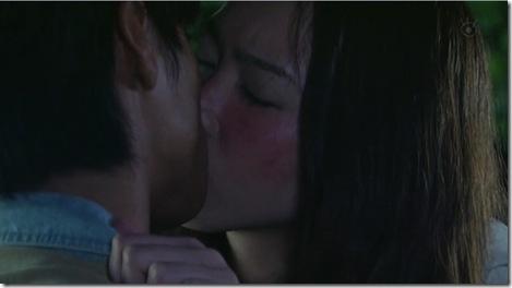 zenkai girl kiss scene