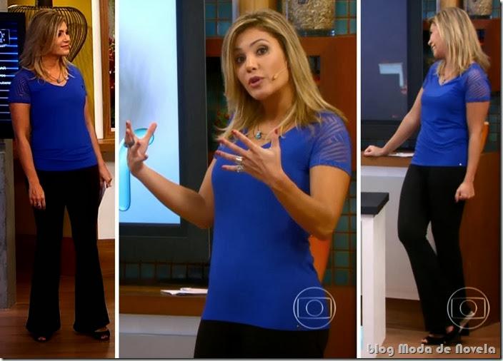 moda do programa bem estar - flávia freire no dia 11 de outubro de 2013