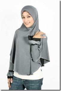 Model Jilbab Tangan yang simpel