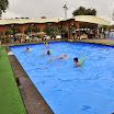 Аква-фитнес под дождем на КФФ