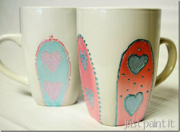 Painted-Mug-J